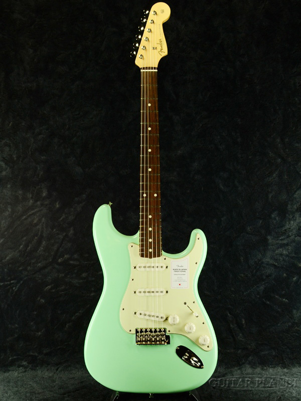 Fender Made In Japan 2020 Collection Traditional 60s Stratocaster -Surf Green- 新品[フェンダージャパン][トラディショナル][ストラトキャスター][サーフグリーン,緑][Guitar,ギター]