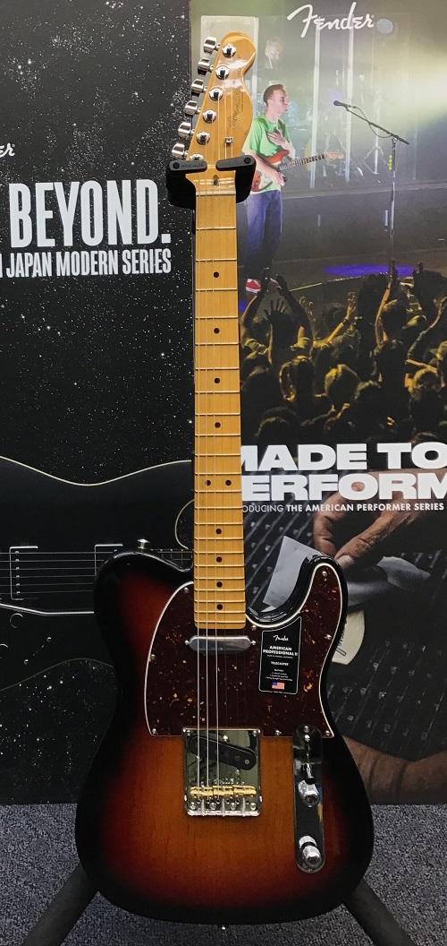 【未使用品】 Fender USA Maple- American Professional II Sunburst Telecaster -3-Color Telecaster Sunburst/ Maple- 新品【US20013075】【3.48kg】[フェンダー][アメリカンプロフェッショナル,アメプロ][サンバースト][テレキャスター][Guitar,ギター], BCLOVER:3f518749 --- themezbazar.com