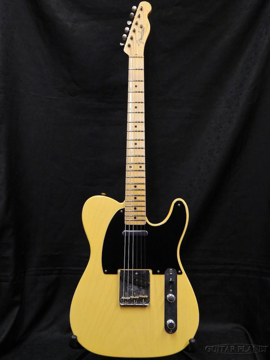 【中古】Fender Custom Shop MBS 1952 Telecaster Journeyman Relic -Faded Nocaster Blonde- by Dennis Galuszka 2017年製[フェンダー][カスタムショップ][ノーキャスターブロンド,木目][テレキャスター][Electric Guitar]【used_エレキギター】