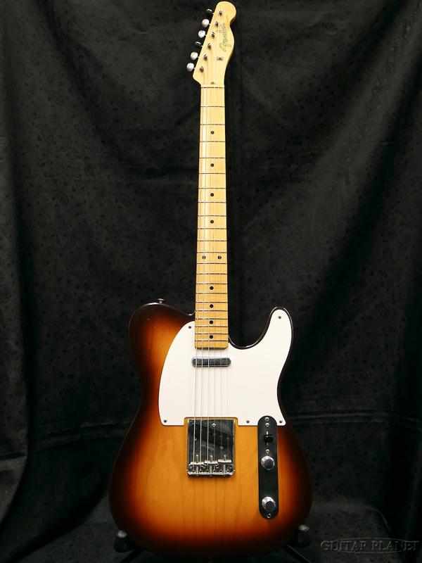 【中古】Fender Custom Shop MBS 1957 Telecaster Light Relic -Chocolate 2 Color Sunburst- 2007年製[フェンダーカスタムショップ][Telecaster,TL,テレキャスタータイプ][サンバースト,木目][Electric Guitar,エレキギター]【used_エレキギター】