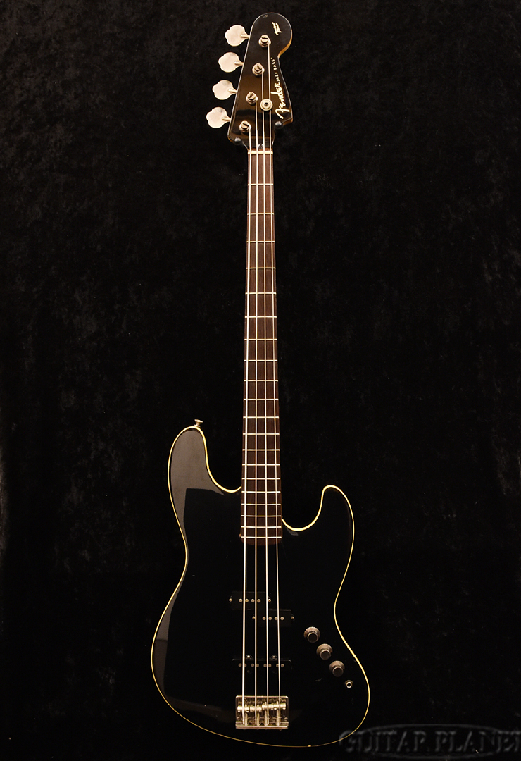 【中古】Fender Japan AJB-DX -Black- 2002-2004年製 [フェンダージャパン][エアロダイン][ジャズベース,JB][ブラック,黒][Electric Bass,エレキベース]【used_ベース】