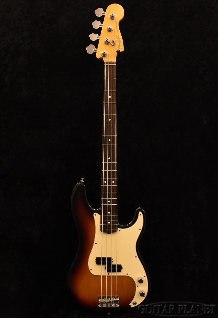 【中古】Fender USA American Precision Bass -3Color Sunburst- 2002年製[フェンダー][サンバースト][プレシジョンベース,プレベ,PB][Electric Bass,エレキベース]【used_ベース】