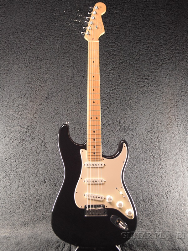 【中古】Fender USA American Stratocaster -Black / Maple- 2004年製[フェンダー][ブラック,黒][ストラトキャスター][Electric Guitar,エレキギター]【used_エレキギター】