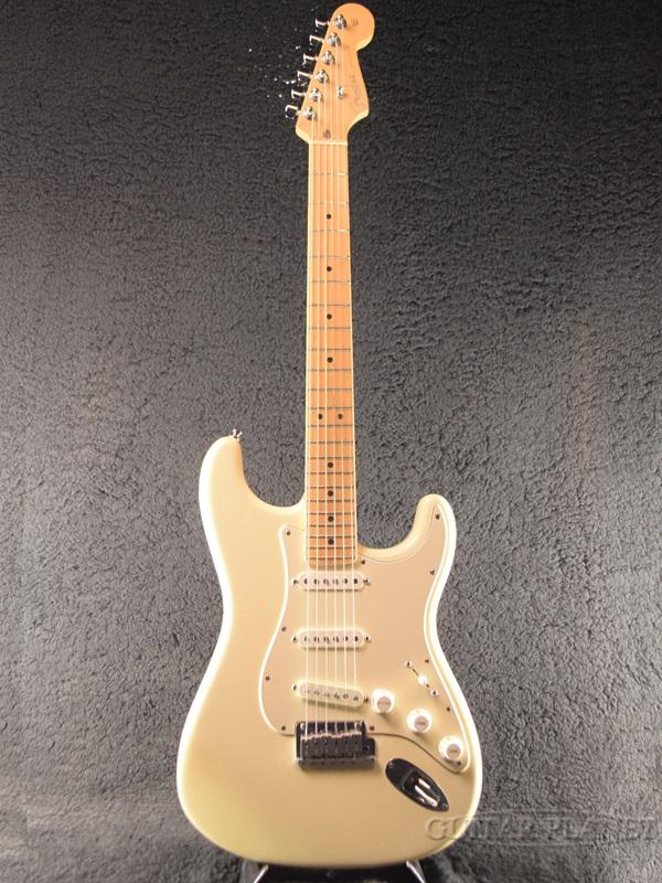 【中古】Fender USA American Statocaster ''Mod.'' -Olympic White / Maple- 2002年製[フェンダー][オリンピックホワイト,白][ストラトキャスター][Electric Guitar,エレキギター]【used_エレキギター】