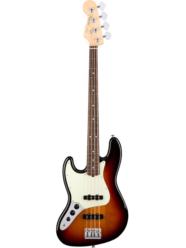 Fender USA American Professional Jazz Bass Left-Hand -3-Color Sunburst / R- 新品[フェンダー][アメリカンプロフェッショナル][左用,左利き,レフトハンド,レフティー,Left hand][ジャズベース][サンバースト][Electric Bass,エレキベース][Rosewood,ローズウッド]