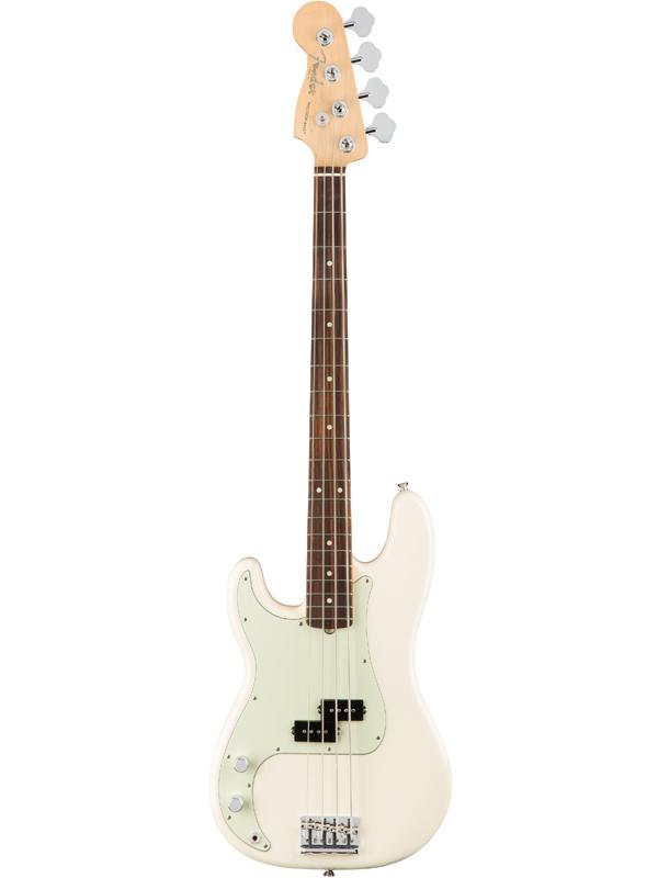 Fender USA American Professional Precision Bass Left-Hand -Olympic White / R- 新品[フェンダー][左用,左利き,レフトハンド,レフティー,Left hand][ジャズベース][オリンピックホワイト,白][Electric Bass,エレキベース][Rosewood,ローズウッド]