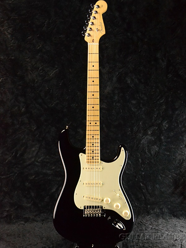 Fender USA American Professional Stratocaster Black/Maple 新品[フェンダー][アメリカンプロフェッショナル,アメプロ][ブラック,黒][ストラトキャスター][Electric Guitar,エレキギター]