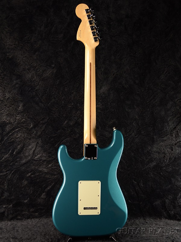 Fender Mexico Deluxe Lone Star Stratocaster Ocean Turquoise新货[挡泥板][墨西哥][华丽][Lone Star][Green,大海三鲤鱼,绿色,绿][sutoratokyasuta][Electric Guitar,电子吉他]