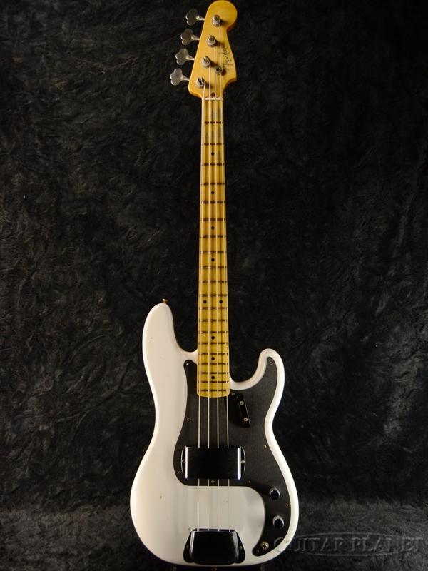 Fender Custom Shop 2018 Limited 1958 Precision Bass Journeyman Relic -Wide Opaque White Blonde- 新品[フェンダーカスタムショップ,CS][ホワイトブロンド,白][Precision Bass,プレシジョンベース,プレベ,PB][Electric Bass,エレキベース]
