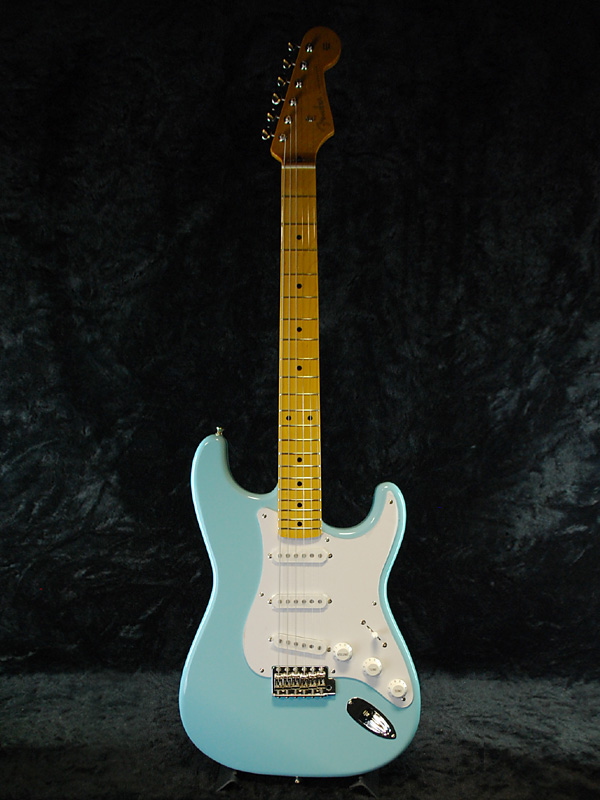 Fender Japan Exclusive Classic 50 s Stratocaster SBL (old-:ST57) brand new  Sonic blue [fenders], [Japan] [Stratocaster] [Sonic Blue, blue, light blue]