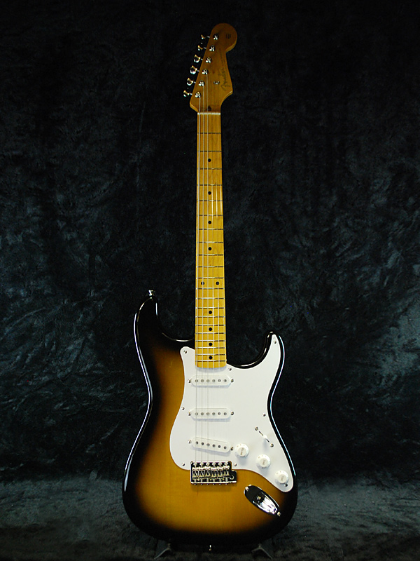 guitar planet fender japan exclusive classic 50 s stratocaster 2ts old st57 brand new 2 tone. Black Bedroom Furniture Sets. Home Design Ideas