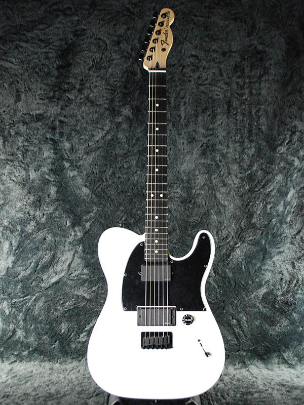 Fender Mexico Jim Root Telecaster 新品 フラットホワイト[フェンダーメキシコ][テレキャスター,TL][ジムルート][Slipknot,スリップノット][シグネイチャー][Flat White,白][エレキギター,Electric Guitar]