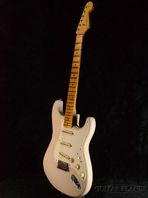 Fender Custom Shop 2017 NAMM LIMITED 1956 Dual-Mag Stratocaster Journeyman Relic-Dirty White Blonde-新货[挡泥板特别定做店铺][datihowaitoburondo,白][ST,sutoratokyasuta][Electric Guitar,电子吉他]