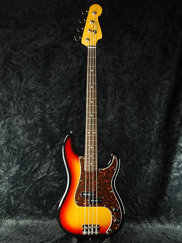 Fender Japan Exclusive Classic '60s P Bass 3TS (旧型番:PB62) 新品 3トーンサンバースト[フェンダー][ジャパン][Precision Bass,プレシジョンベース,プレベ][3-Tone Sunburst][Electric Bass,エレキベース]