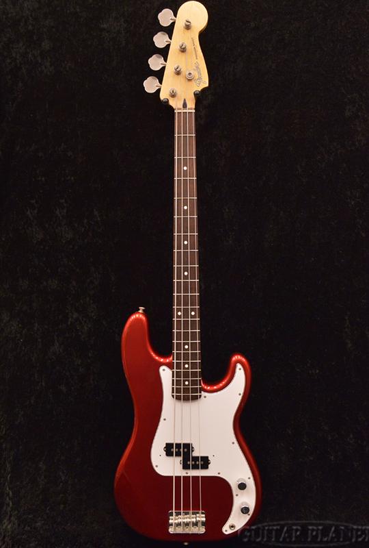 【中古】Fender Japan PB-STD -Candy Apple Red- 2006-2008年製[フェンダージャパン][キャンディアップルレッド,赤][Precision Bass,プレシジョンベース,プレベ,PB][Electric Bass,エレキベース]【used_ベース】