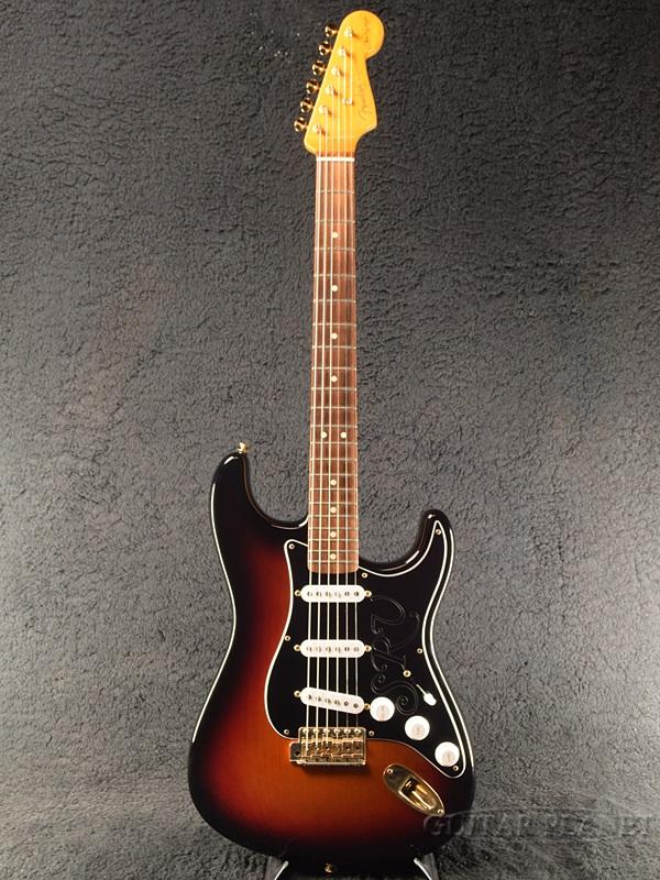 【中古】Fender USA Stevie Ray Vaughan Stratocaster -3-Color Sunburst- 2012年製[フェンダー][スティーヴィー・レイボーン][3カラーサンバースト,3CS][ストラトキャスター][Electric Guitar,エレキギター]【used_エレキギター】