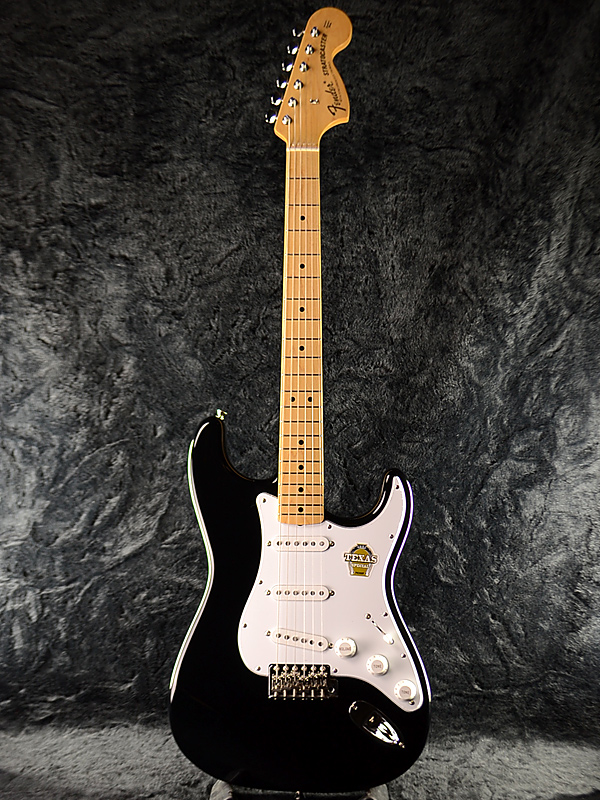 guitar planet brand new fender japan exclusive classic 68 stratocaster tex spec blk m old. Black Bedroom Furniture Sets. Home Design Ideas