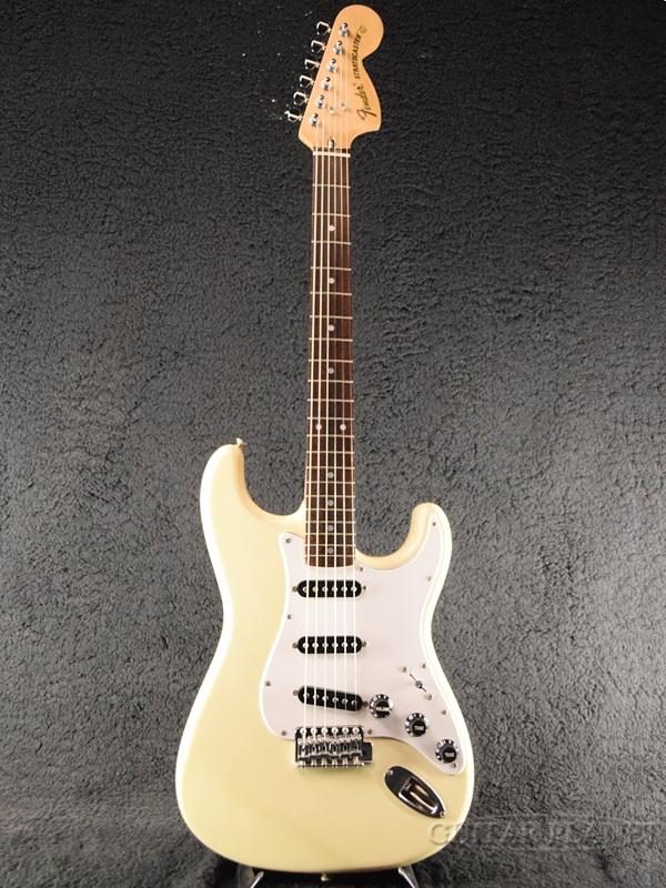 【中古】Fender Japan ST72-65 -Yellow White / Rosewood- 1985-1986年製[フェンダージャパン][イエローホワイト,白][Stratocaster,ストラトキャスター][Electric Guitar,エレキギター]【used_エレキギター】