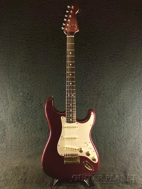 【中古】Fender USA 1980 The Strat -Candy Apple Red / Rosewood- 1980年製[フェンダー][ザ・ストラト][キャンディアップルレッド,赤][Stratocaster,ストラトキャスター][Electric Guitar,エレキギター]【used_エレキギター】