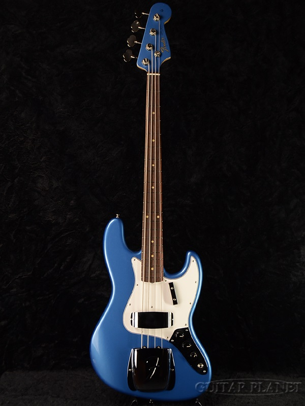 Fender USA American Vintage 64 Jazz Bass Lake Placid Blue New JB Electric