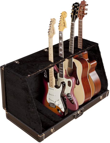 Fender Guitar Case Stands 7Guitars Black 新品[フェンダー][7本掛け][ブラック,黒][ギタースタンド]