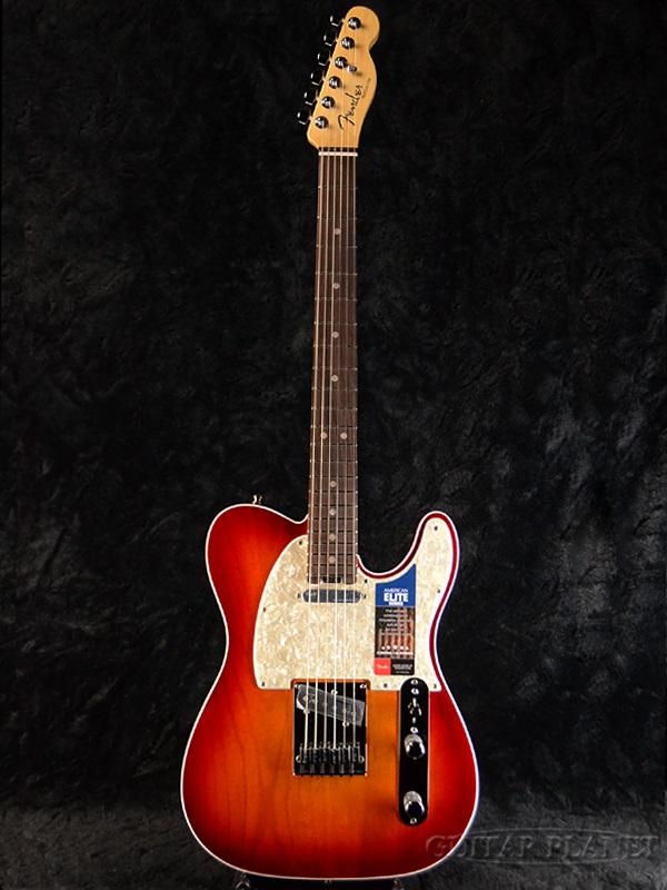 Fender USA American Elite Telecaster -Aged Cherry Burst / Rosewood- 新品[フェンダー][アメリカンエリート][TL,テレキャスター][エイジドチェリーバースト][Electric Guitar,エレキギター]