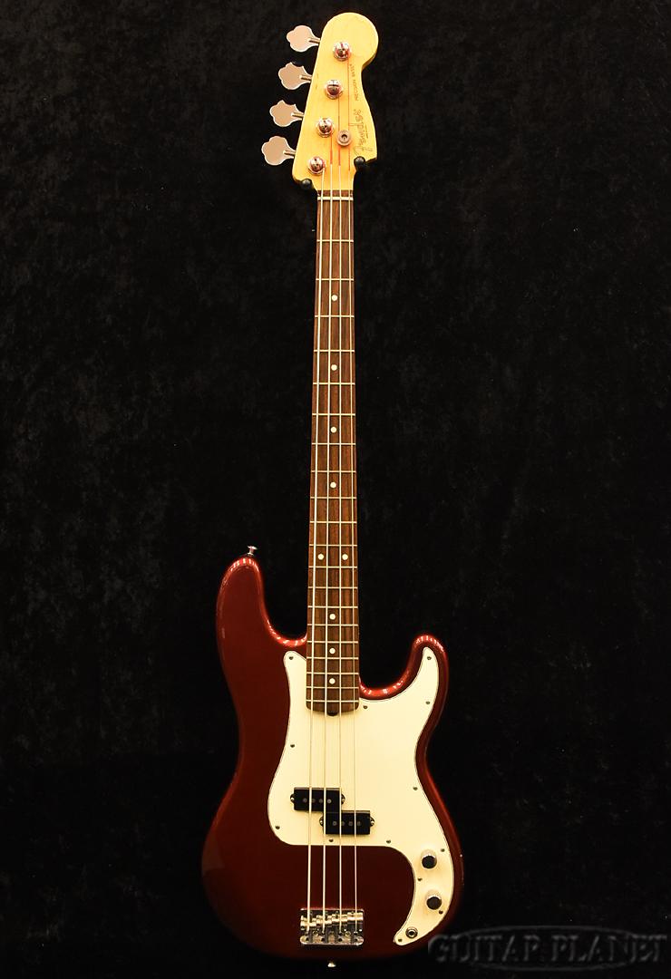 【中古】Fender USA American Standard Precision Bass -Candy Cola- 2009年製[フェンダー][アメリカンヴィンテージ][キャンディコーラ,赤][プレシジョンベース,プレベ,PB][Electric Bass,エレキベース]【used_ベース】