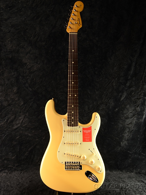 Fender Made in Japan Traditional 60s Stratocaster Limited Run -Vintage White- 新品 《レビューを書いて特典プレゼント!!》[フェンダージャパン][トラディショナル][ビンテージホワイト,白][ストラトキャスター][Electric Guitar,エレキギター]