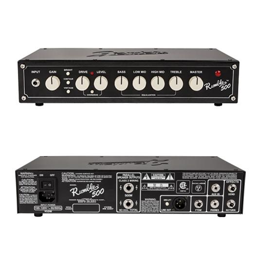 【500W】Fender USA Rumble 500 Head 新品 ベースアンプヘッド[フェンダー][ランブル][Bass Head Amplifier]