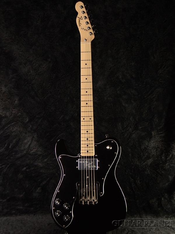 guitar planet fender japan exclusive classic 70 s tele custom left hand blk lefty brand new. Black Bedroom Furniture Sets. Home Design Ideas