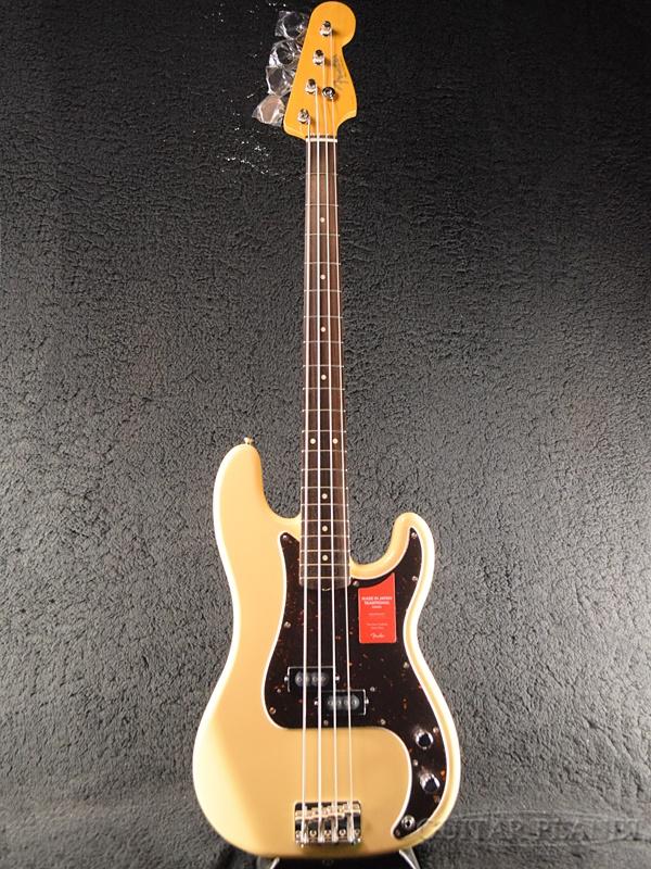 Fender Made in Japan Traditional 60s Precision Bass Limited Run -Vintage White- 新品 《レビューを書いて特典プレゼント!!》[フェンダージャパン][トラディショナル][ビンテージホワイト,白][プレジションベース][Electric Bass,エレキベース]
