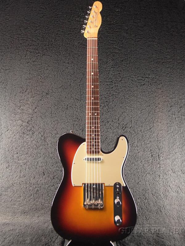 【中古】Fender USA Vintage Hot Rod '60s Telecaster ''Mod.'' -3-Color Sunburst- 2013年製[フェンダー][ビンテージホットロッド][3カラーサンバースト,3CS][TL,テレキャスター][Electric Guitar,エレキギター]【used_エレキギター】