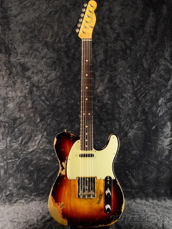 Fender Custom Shop ~2018 NAMM Display #115~ 1963 Telecaster Heavy Relic -Super Faded/Aged 3 Color Sunburst- 新品[フェンダーカスタムショップ][3CS,サンバースト][テレキャスター][Electric Guitar,エレキギター]