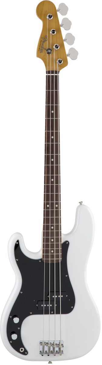 Fender Made In Japan Traditional 60s Precision Bass Left-Hand Arctic White 新品 《レビューを書いて特典プレゼント!!》[フェンダージャパントラディショナル][LH,レフトハンド][ホワイト,白][Precision Bass,PB,プレシジョンベース,プレベ][Electric,エレキベース]