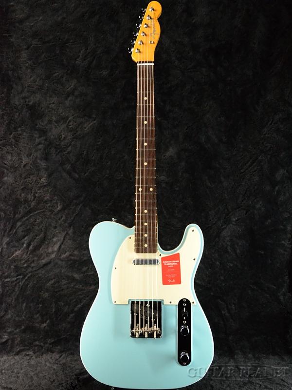 Fender Made In Japan Traditional 60s Telecaster Custom Daphne Blue 新品 《レビューを書いて特典プレゼント!!》[フェンダージャパン][トラディショナル][ダフネブルー,青][テレキャスター][Electric Guitar,エレキギター]