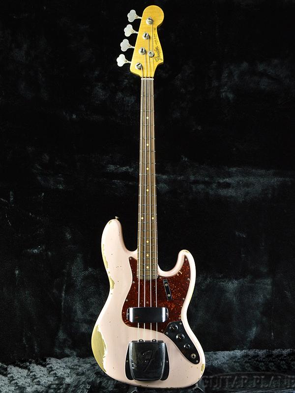 Fender Custom Shop 1964 Jazz Bass Heavy Relic -Faded Shell Pink- 新品 [フェンダーカスタムショップ,cs][フェイデッドシェルピンク][ジャズベース,JB][Electric Bass,エレキベース]
