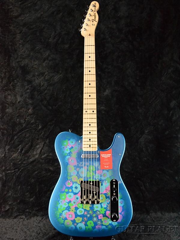 Fender Made In Japan Traditional 69 Telecaster Blue Flower 新品 《レビューを書いて特典プレゼント!!》[フェンダージャパン][トラディショナル][ブルーフラワー,青][テレキャスター][Electric Guitar,エレキギター]