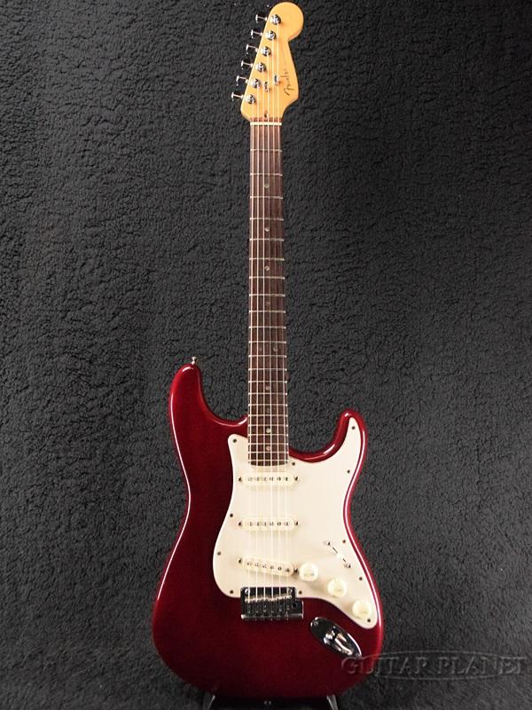 【中古】Fender USA American Deluxe Stratocaster Ash -Wine Transparent / Rosewood- 1999年製[フェンダー][アメリカンデラックス,アメデラ][ワイントランスペアレント,赤][ストラトキャスター][Electric Guitar,エレキギター]【used_エレキギター】