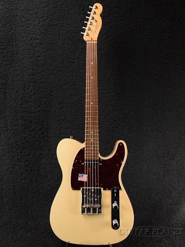【中古】Fender USA American Deluxe Telecaster ''MOD'' -Olympic Pearl / Rosewood- 2007年製 [フェンダー][アメリカンデラックス][オリンピックパール,白][TL,テレキャスター][Electric Guitar,エレキギター]【used_エレキギター】