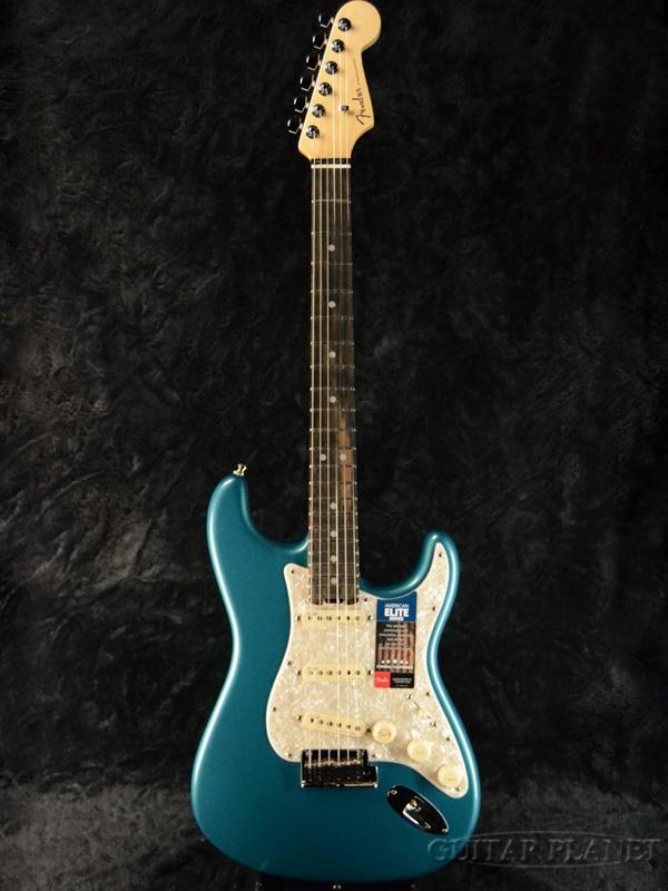 好評 Fender USA American Elite Stratocaster -Ocean Turquoise / Ebony- 新品[フェンダー][アメリカンエリート][オーシャンターコイズ,青][ストラトキャスター][Electric Guitar,エレキギター], 美濃加茂市 729258de