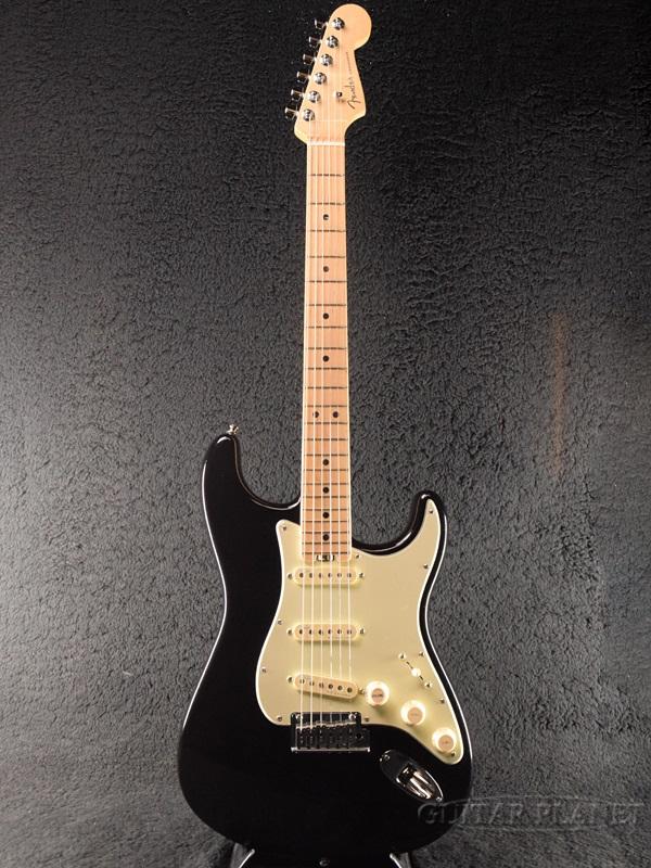 【中古】Fender USA American Elite Stratocaster -Mystic Black / Maple- 2016年製[フェンダー][アメリカンエリート][ミスティックブラック,黒][ストラトキャスター][Electric Guitar,エレキギター]【used_エレキギター】