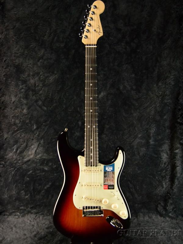 Fender USA American Elite Elite Stratocaster American - 3-Color Sunburst/ - Ebony- 新品[フェンダー][アメリカンエリート][3カラーサンバースト][ストラトキャスター][Electric Guitar,エレキギター], COZY:3b6c4a94 --- rodebyjakt.se