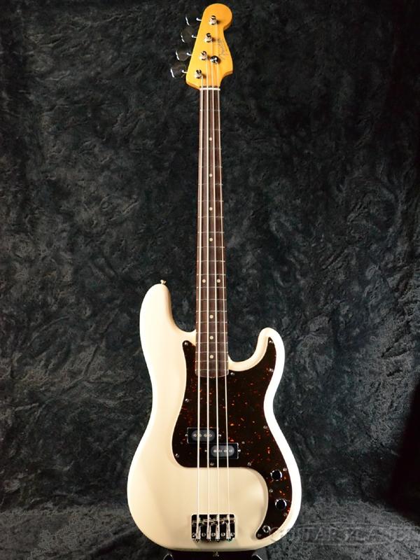 Fender Japan Exclusive Classic 60s P Bass VWH (旧型番:PB62) 新品 ヴィンテージホワイト[フェンダー][ジャパン][Precision Bass,プレシジョンベース,プレベ][Vintage White,白][Electric Bass,エレキベース]