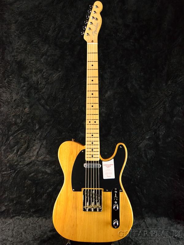 Fender Made In Japan Hybrid 50s Telecaster Vintage Natural 新品 《レビューを書いて特典プレゼント!!》[フェンダージャパン][ハイブリッド][ビンテージナチュラル][テレキャスター][Electric Guitar,エレキギター]