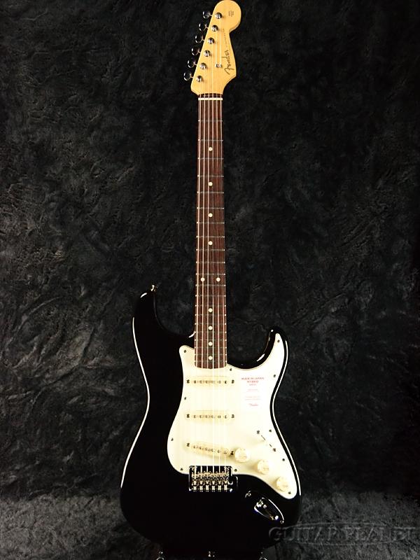 Fender Made In Japan Hybrid 60s Stratocaster Black 新品 《レビューを書いて特典プレゼント!!》[フェンダージャパン][ハイブリッド][ブラック,黒][ストラトキャスター][Electric Guitar,エレキギター]