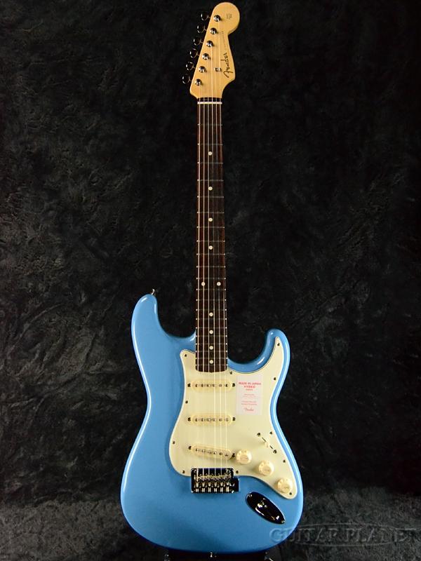 Fender Made In Japan Hybrid 60s Stratocaster California Blue 新品 《レビューを書いて特典プレゼント!!》[フェンダージャパン][ハイブリッド][カルフォルニアブルー,青][ストラトキャスター][Electric Guitar,エレキギター]