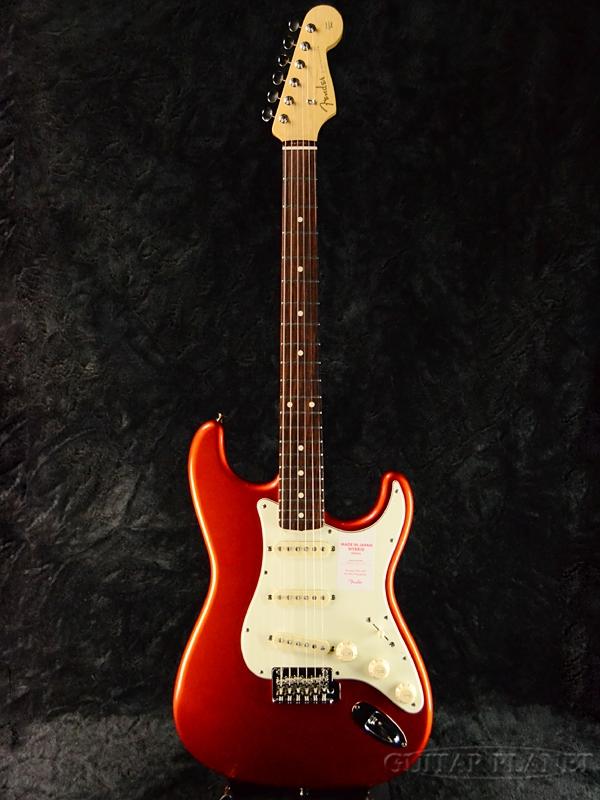 Fender Made In Japan Hybrid 60s Stratocaster Candy Tangerine 新品 《レビューを書いて特典プレゼント!!》[フェンダージャパン][ハイブリッド][キャンディタンジェン,橙][ストラトキャスター][Electric Guitar,エレキギター]