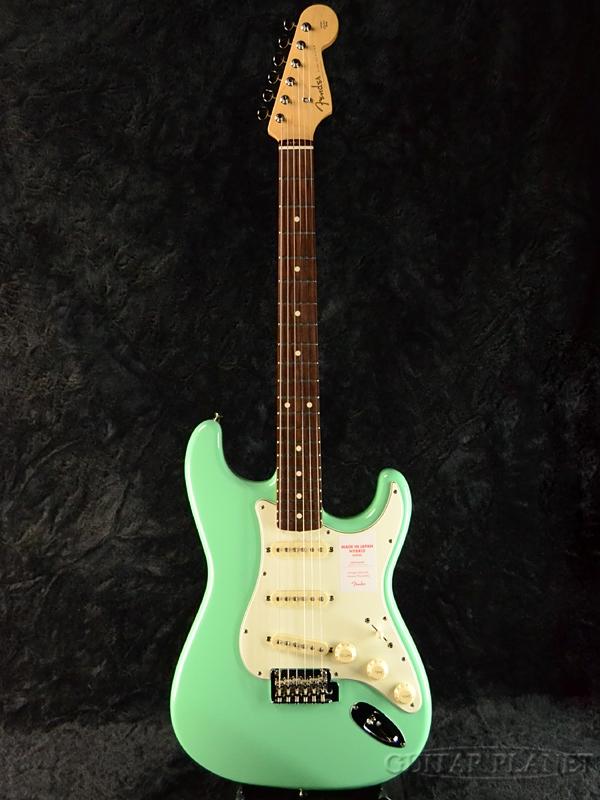 日本初の Fender Made In Japan 新品 Hybrid 60s Stratocaster Stratocaster Sherwood Japan Surf Green 新品 《レビューを書いて特典プレゼント!!》[フェンダージャパン][ハイブリッド][シャーウッドサーフグリーン,緑][ストラトキャスター][Electric Guitar,エレキギター], 文具文房具のKDM:3c7112de --- inglin-transporte.ch