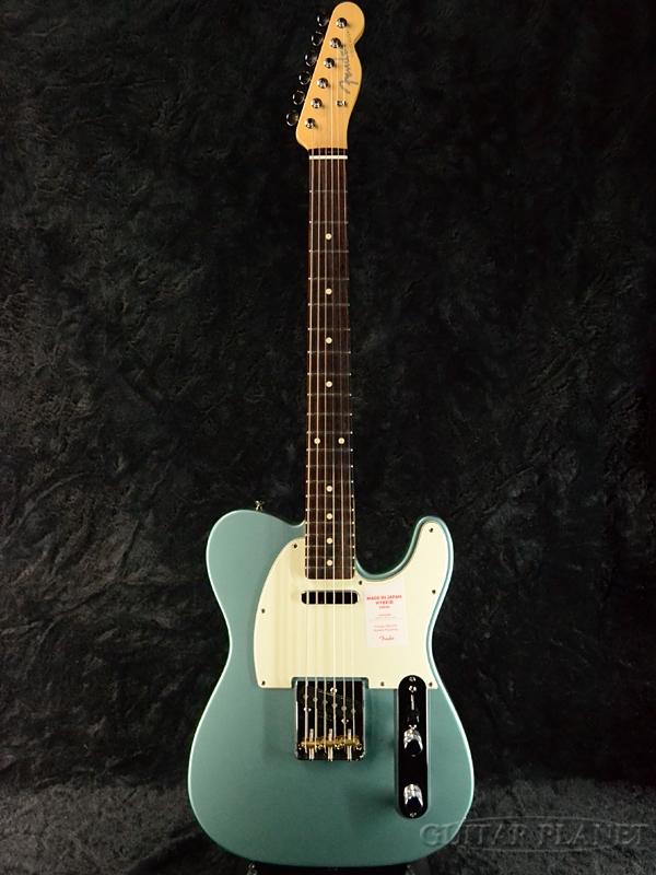 Fender Made In Japan Hybrid 60s Telecaster Ocean Turquoise Metallic 新品 《レビューを書いて特典プレゼント!!》[フェンダージャパン][ハイブリッド][オーシャンターコイズメタリック,青][テレキャスター][Electric Guitar,エレキギター]