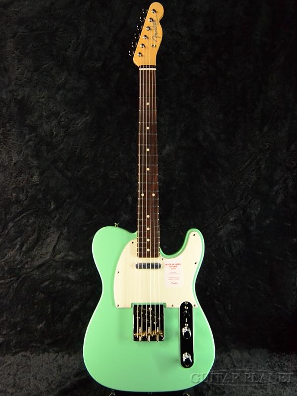 Fender Made In Japan Hybrid 60s Telecaster Surf Green 新品 《レビューを書いて特典プレゼント!!》[フェンダージャパン][ハイブリッド][サーフグリーン,緑][テレキャスター][Electric Guitar,エレキギター]
